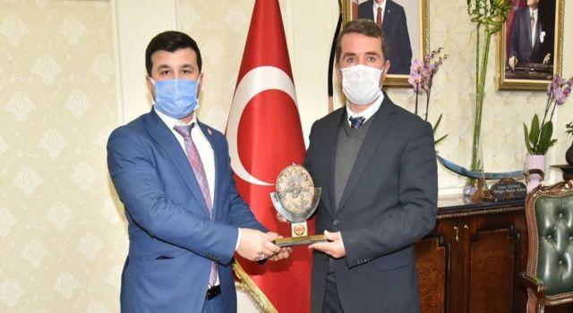 Kahramanmaraş'ta TÜMKİAD'dan Başkan Okumuş'a ziyaret
