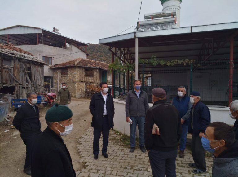 Büyükorhan Kaymakamı, mahalle sakinleriyle bir araya geldi