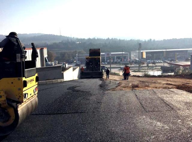 Osmangazi'den asfalt çalışması