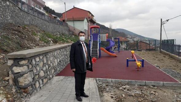Osmangazi'den Uludağ yamaçlarına çocuk parkı